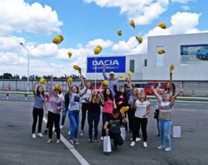 vizita Dacia